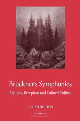 Bruckner's Symphonies: Analysis, Reception and Cultural Politics by Brand: Cambridge University Press