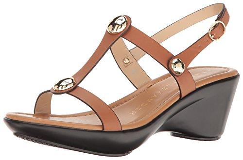 Athena Alexander Kvinners Pettra Plattform Kjole Sandal Tan