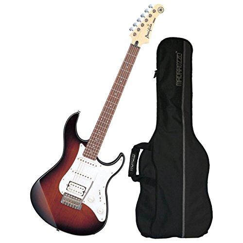 Yamaha Pacifica PAC112J Old Violin Sunburst Electric Guitar with Gig Bag