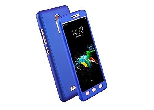 TECHILUV™ 360 Full Body Protection PC Front  Back Cover Case  ipaky Style  for Xiaomi Redmi Mi Note 4  Blue