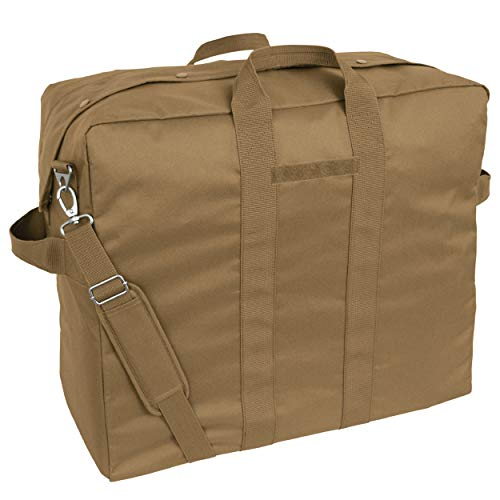 Mercury Tactical Gear Code Alpha Heavy Duty Tool and Kit Bag with Backpack Straps, Basic, Coyote Brown