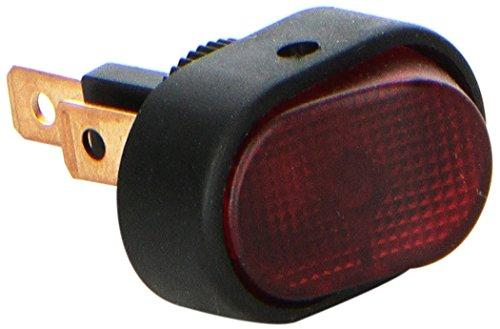HELLA H61921001 Red SPST Rocker Switch