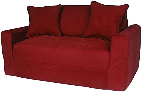 Fun Furnishings Micro Suede Sofa Sleeper