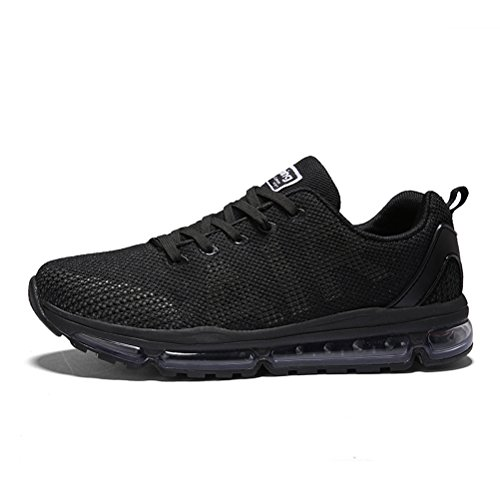 Running Shoes Sneakers for Men Mens Fashion Sports Air Cushion Athletic Shoes Trainer Shoe Black