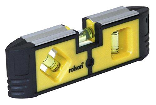 Rolson Mini-Wasserwaage, magnetisch, 54114