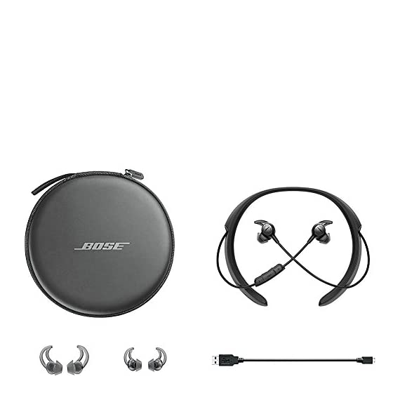 Bose QuietControl 30 Wireless Headphones 4 Breakthrough technology lets you control your own level of noise cancellation throughout your day Bluetooth and NFC pairing so you can connect to your devices wirelessly Volume-optimized EQ gives you balanced audio performance at any volume