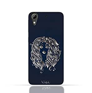 HTC Desire 826 TPU Silicone Case with Zodiac-Sign-Virgo Design.