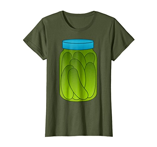 Womens Funny Halloween Costumes-Pickle Jar for Women Men Medium (Diy Halloween Costumes Funny)