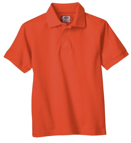 10 best athletic polo boys orange
