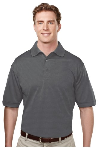 Tri Mountain 4 7 Oz 100  Microfiber Polyester Ultracool Golf Shirt