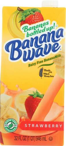 Banana Wave Milk Banana Strawberry 32.0 FO (Pack of 12)
