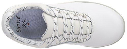 Sanita San-chef Lace Shoe-s2 - Calzado de protección Unisex adulto Blanco - Weiß (White 1)