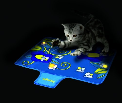 Pet Petstages Flashing Firefly Play Mat for Cats, Soft durable material, Can fold up and store Supply Store/Shop