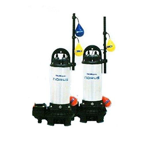 新明和工業水中ポンプCRS80D+W-F65N 2.2KW 自動型+自動交互型 高機能樹脂製軽量水中ポンプ B01AL094C8
