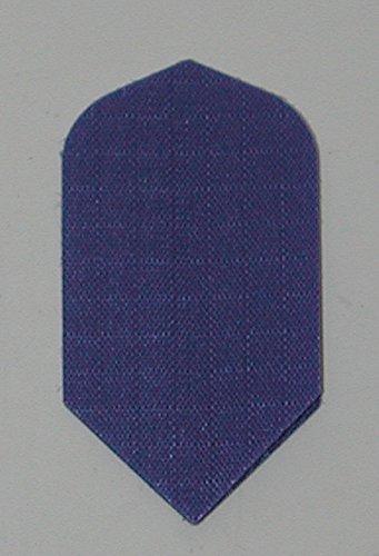 US Darts - 3 Sets (9 Flights) Blue Nylon Slim Dart Flights - Cloth, Fabric, Ripstop