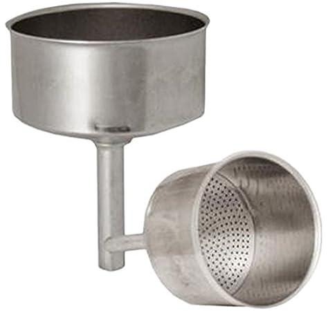 Oroley - Recambio Embudo Cafetera Italiana de Aluminio, 12 Tazas: Amazon.es: Bricolaje y herramientas