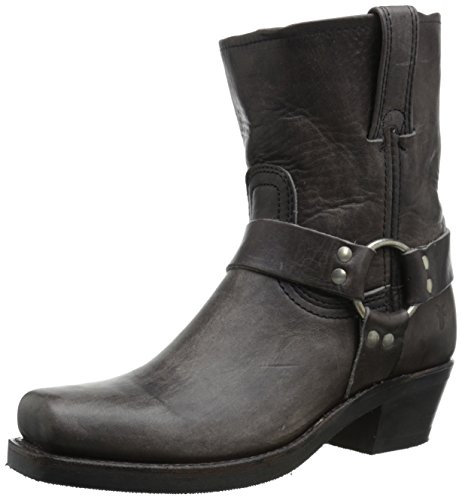 - FRYE Women's 8R-WSHOVN Harness Boot,  Smoke, 7.5 M US