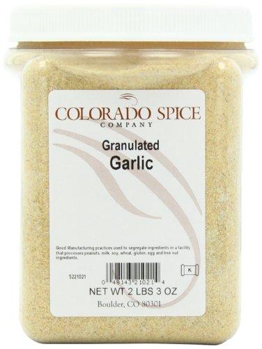 Colorado Spice Garlic, Granulated, 2 Lbs 3 Oz