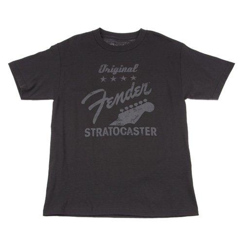 Fender Original Strat T-Shirt, Charcoal, Large