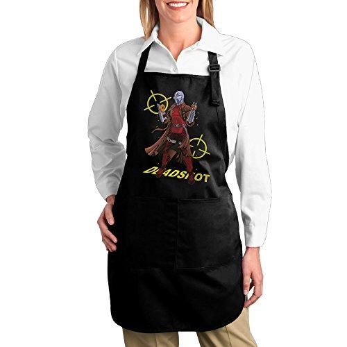 [FUNNY MOPAD Dc Revolt Deadshot Suicide Squad Kitchen Apron With Front Pockets] (Deadshot Arrow Costume)