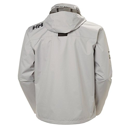 Crew Chaleco Hansen Helly 820 Hombre gris Gris Hooded 758wAwq