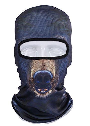 3D Animal Outdoor Cycling Motorcycle Masks Hood Hat Ski Balaclava Face Mask (BBB08)