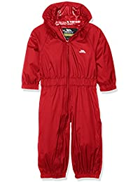 Button Babies Waterproof Breathable Rainsuit With Hood For Girls Boys