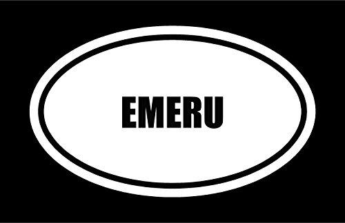 6-die-cut-white-vinyl-emeru-name-oval-euro-style-vinyl-decal-sticker