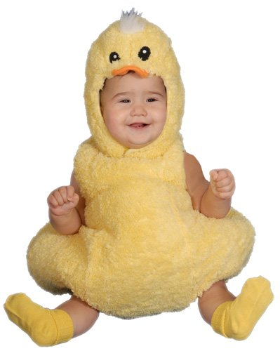 Size 0 Halloween Costumes (Cute Little Baby Duck Costume Set - Size 0-6 Mo.)