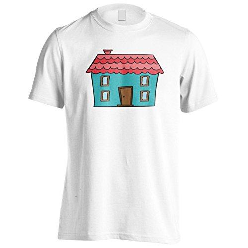 Neue Schöne Vintage Hauskunst Herren T-Shirt l700m