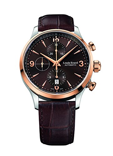 Louis Erard Men's 1931 Collection Brown Dial Chrono 78225AB16 Watch