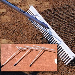 Aluminum Maintenance Rake, ()