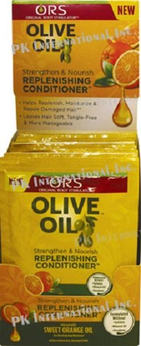 Olive Case Oil ([ WHOLE CASE 12PCS] ORS OLIVE OIL REPLENISHING CONDITIONER W SWEET ORANGE OIL)