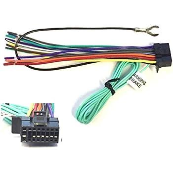 amazon com asc car stereo power speaker wire harness plug