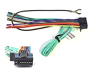41sdc2sOEHL._SX300_ amazon com asc car stereo power speaker wire harness plug for sony xav 68bt wiring diagram at alyssarenee.co