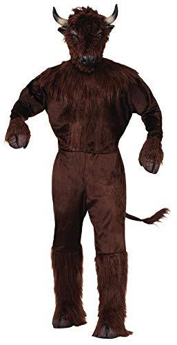 Forum Novelties Adult's Standard Buffalo Mascot Costume, as as Shown Standard ()