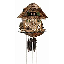 Schneider 12 Inch Wood Chopper Black Forest Cuckoo Clock