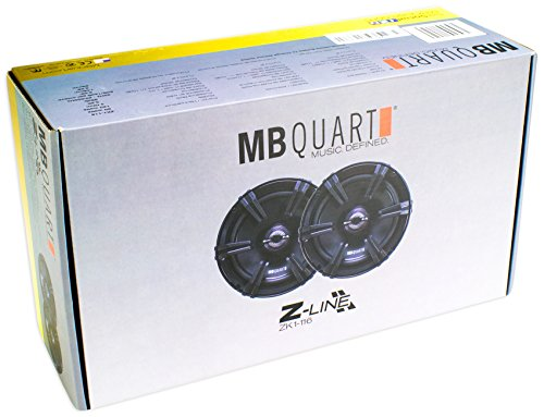 (4) MB Quart ZK1-116 6.5'' 480 Watt Car Audio Speakers w/Ceramic Coated Tweeters by MB Quart (Image #8)
