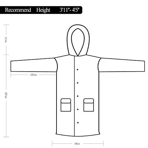 PAMASE-Reusable-Rain-Poncho-with-Hood-for-Kids- 19b0804a7