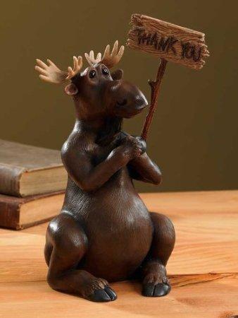 Milton Moose Coin Piggy Bank - Moose Bank