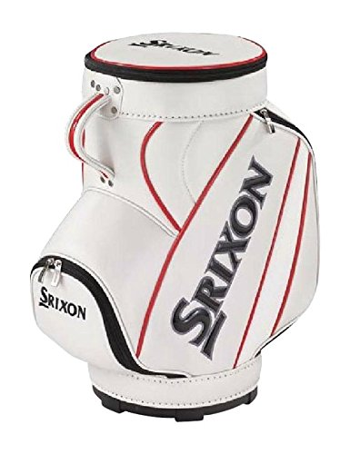 DUNLOP(ダンロップ) SRIXON インテリアミニキャディバッグ GGF-85106 ホワイト