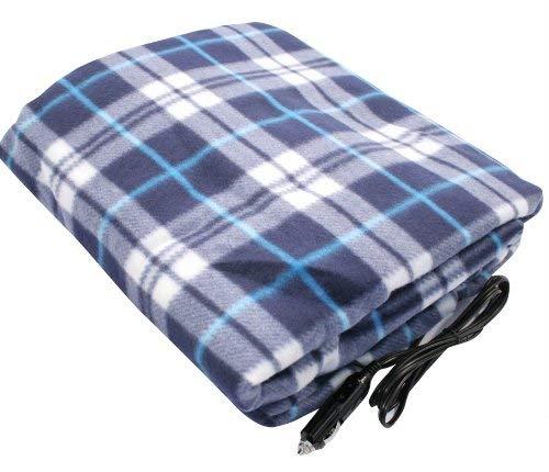 Grande chauffante 12/V de Voiture Van de Voyage Couverture /électrique Polaire Chaude Cuddle Tapis Home Living