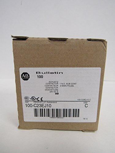 ALLEN-BRADLEY IEC 100-C23EJ10 STANDARD CONTACTOR 23 AMP 24VDC by Allen-Bradley (Image #3)