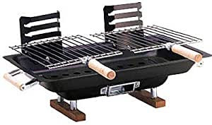 Kay Home Products 30002 Hibachi Grill, Steel, 10 x 17-In. - Quantity 6