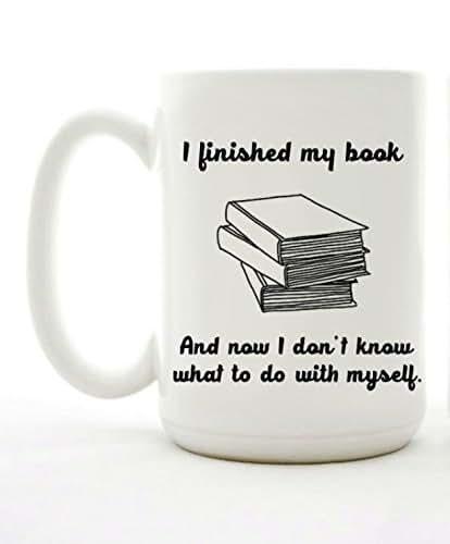 I Finished My Book Mug
