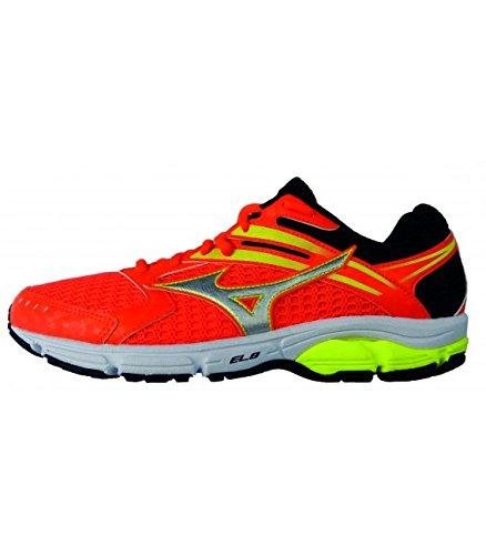 Mizuno Wave Valiant W–Farbe–Orange Fluor, Größe Schuhe–6