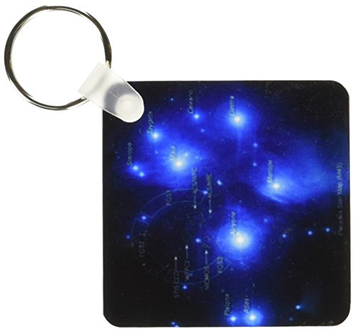 3d Rose 3dRose Galaxy and Nebula - Pleiades Star Cluster ...