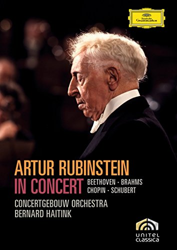 Artur Rubinstein in Concert - Beethoven, Brahms, Chopin, Schubert by Nathan