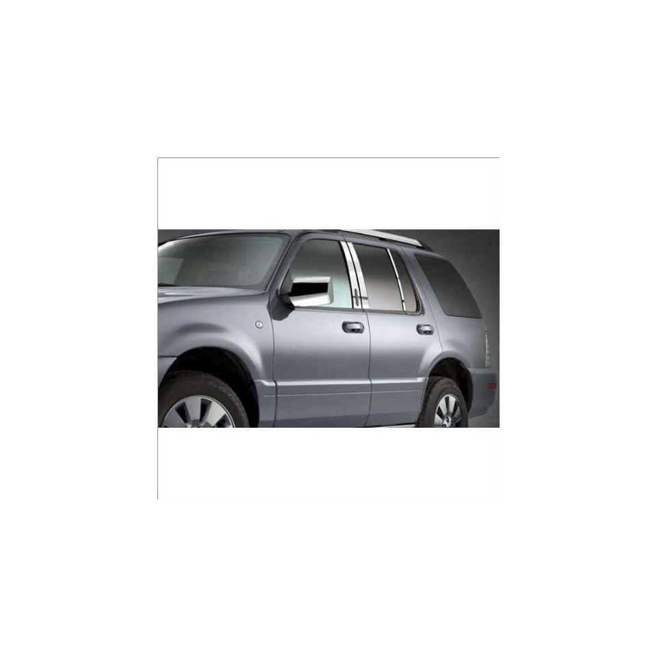 SES Trims Chrome Mirror Covers 07 10 Ford Explorer