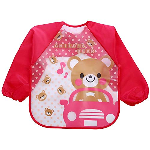 Marsrut TM 1 Piece Boy Girl Kids Bibs Waterproof Aprons Saliva Cartoon Bib Burp Feeding Bandana